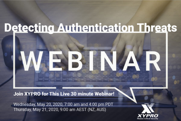 Webinar Replay: Detecting Authentication Threats