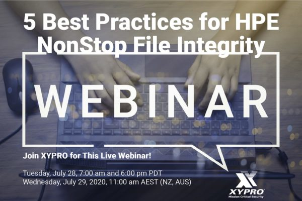 Webinar Replay: 5 Best Practices for HPE NonStop File Integrity Monitoring