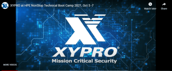 Top 10 Must-See Sessions – XYPRO at HPE NonStop TBC 2021